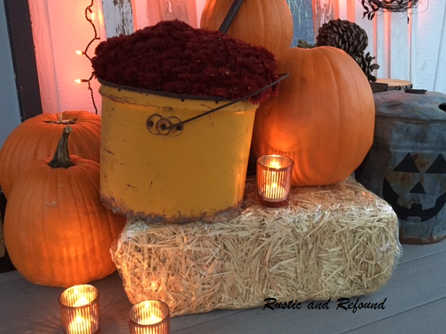 Yellow bucket Halloween 2018