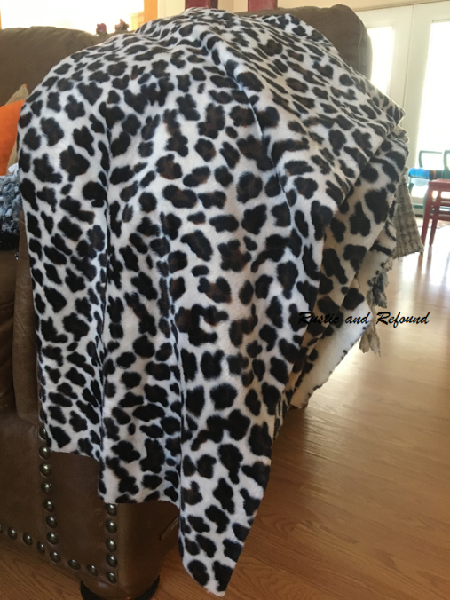 cheeta fabric for stool
