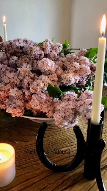 Lilacs in a bowl 6-18-19