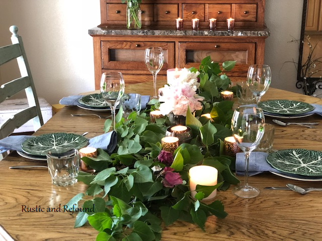 Table setting from the end2